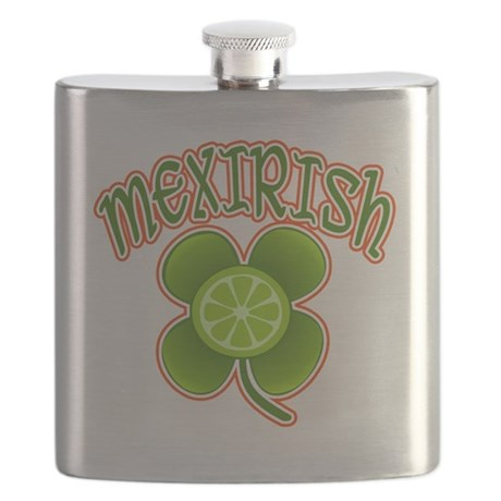 mexirish-lime Flask