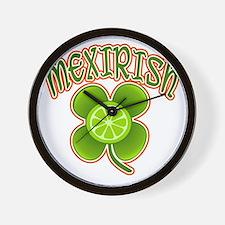 mexirish-lime Wall Clock