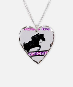 horses_are_awesome2 Necklace