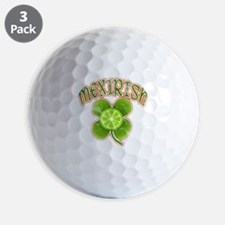 mexirish-lime-vintage Golf Ball