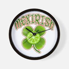 mexirish-lime-vintage Wall Clock