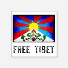 "tibet30 Square Sticker 3"" x 3"""
