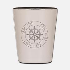 tibet31Bk Shot Glass
