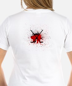 givebloodplayhockeycrossless T-Shirt