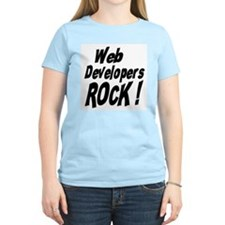 Web Developers Rock ! T-Shirt