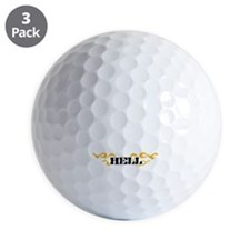 55-black Golf Ball