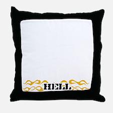 55-black Throw Pillow