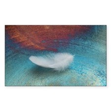 White Feather Decal