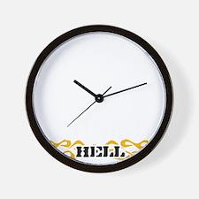 73-black Wall Clock