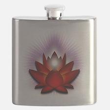 Chakra Lotus - Red Flask