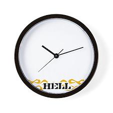 94-black Wall Clock