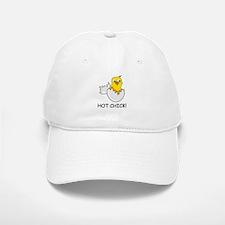 HOT CHICK! Baseball Baseball Cap