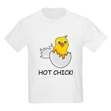 HOT CHICK! Kids T-Shirt
