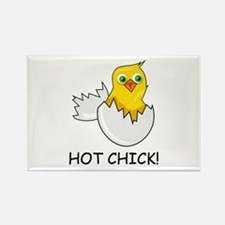 HOT CHICK! Rectangle Magnet