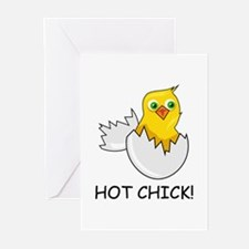 HOT CHICK! Greeting Cards (Pk of 10)