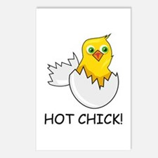HOT CHICK! Postcards (Package of 8)