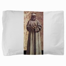 Saint Benedict - Piero della Francesca Pillow Sham