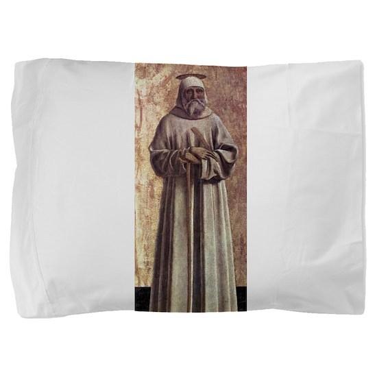 Saint Benedict - Piero della Francesca Pillow Sham