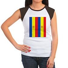 FlipFlopTemplate1 Women's Cap Sleeve T-Shirt