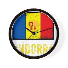 vintageAndorra8Bk Wall Clock
