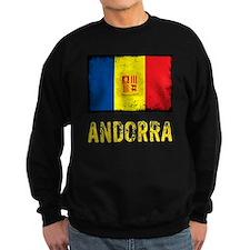 vintageAndorra8Bk Sweatshirt