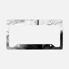 memphis large framed print License Plate Holder