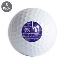 7percent Golf Ball