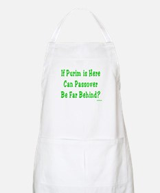 After Purim Comes Passover BBQ Apron