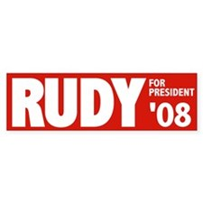 Rudy in 08 Bumper Bumper Sticker