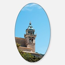 Valldemossa Charterhouse Sticker (Oval)