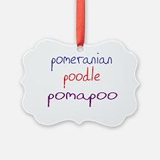 pomapoo_black Ornament