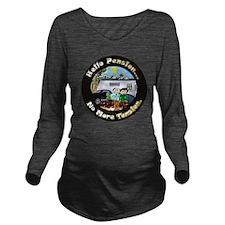 HelloPension3 12x12 Long Sleeve Maternity T-Shirt