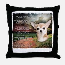godmadedogs2 Throw Pillow