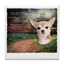 godmadedogs2 Tile Coaster