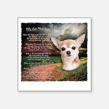 "godmadedogs2 Square Sticker 3"" x 3"""