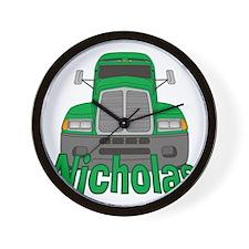 nicholas-b-trucker Wall Clock