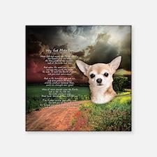 "godmadedogs(button) Square Sticker 3"" x 3"""