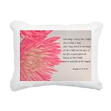 psalm 27 Rectangular Canvas Pillow