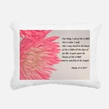 psalm 27 Rectangular Canvas Pillow