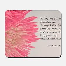 psalm 27 Mousepad