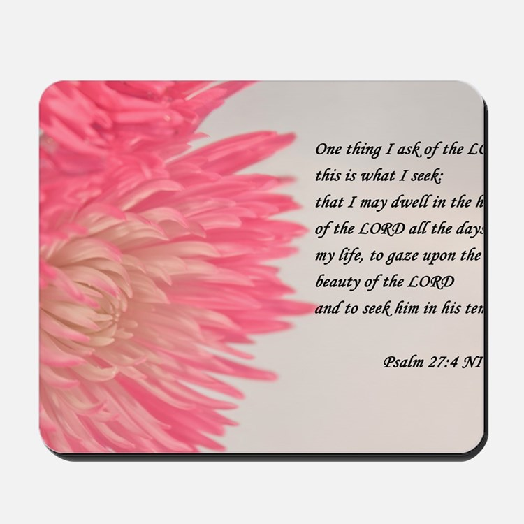 psalm 27 Mousepad