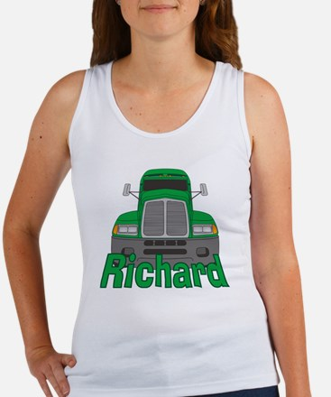 richard-b-trucker Women's Tank Top