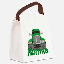 ronnie-b-trucker Canvas Lunch Bag