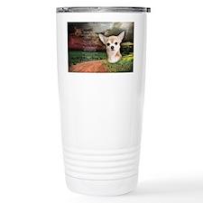 godmadedogs(oval) Travel Mug