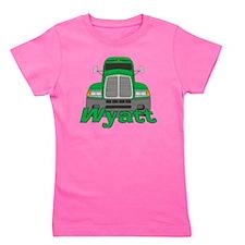 wyatt-b-trucker Girl's Tee