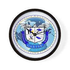 Official Carter Logo Wall Clock