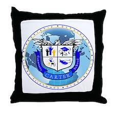 Official Carter Logo Throw Pillow