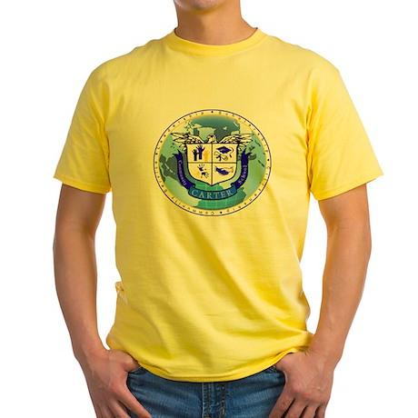 Official Carter Logo Yellow T-Shirt
