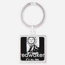 curtain_reawaken Square Keychain