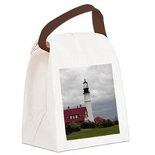 PHL Roses Card Canvas Lunch Bag